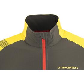 La Sportiva Levante Miehet juoksutakki , keltainen/musta
